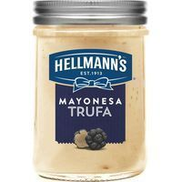 Mayonesa de trufa HELLMANN'S, frasco 190 ml
