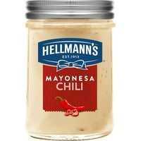 Mayonesa de chili HELLMANN'S, frasco 190 ml