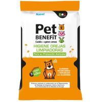 Toallitas higiene de orejas PET BENEFIT, paquete 30 uds.