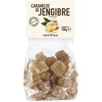 Caramelos jengibre VERITAS, bolsa 150 g