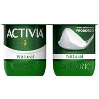 Activia natural DANONE, pack 4x120 g