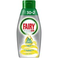 Lavavajillas máquina gel limón FAIRY, botella 32DO