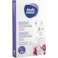 Bandas faciales piel sensible BODY NATUR, caja 6 uds.