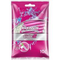 Maquinilla desechable WILKINSON Extra 2, bolsa 10 uds.