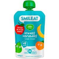 Bolsita de fruta variada ecológica SMILEAT, bolsa 100 g