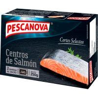 Centros de salmón PESCANOVA, caja 250 g
