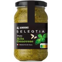 Pesto genovese Eroski SELEQTIA, frasco 190 g
