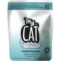 Perlas de sílice gato MYCAT, bolsa 4 litros