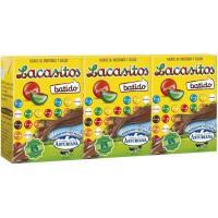 Batido de Lacasitos ASTURIANA, pack 3x200 ml