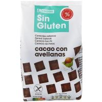 Baggies rellenos de chocolate sin gluten EROSKI, bolsa 400 g
