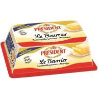 Mantequilla Le Beurrier PRESIDENT, tarrina 225 g
