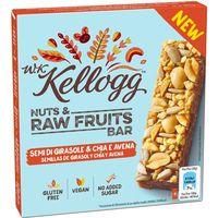 Barrita de semillas de girasol-chia WK KELLOGG, caja 120 g