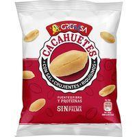 Cacahuete con sal GREFUSA, bolsa 125 g