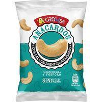 Anacardos con sal GREFUSA, bolsa 125 g