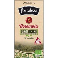 Café molido eco Colombia FORTALEZA, paquete 250 g