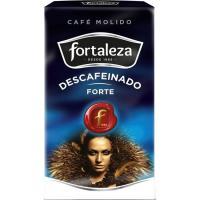 Café molido descafeinado forte FORTALEZA, paquete 235 g