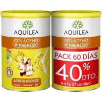 Colageno-Magnesio para articulaciones AQUILEA, pack 2x375 g