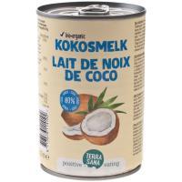 Leche de coco TERRA SANA, lata 400 ml