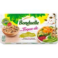 Mix cereales-semillas un toque BONDUELLE, pack 2x85 g