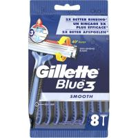 Maquinilla desechable GILLETTE BLUE 3 Smooth, pack 8 uds.