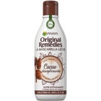 Mascarilla de leche-cacao ORIGINAL REMEDIES, bote 250 ml