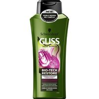Champú Bio-Tech reparador GLISS, bote 400 ml