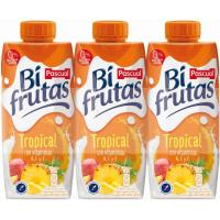 Bifrutas Tropical PASCUAL, pack 3x330 ml