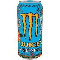 Bebida energética MONSTER Mango Loco, lata 50 cl