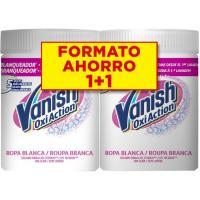 Quitamanchas ropa blanca VANISH, pack 2x900 g
