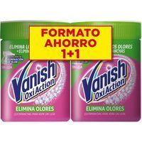 Quitamanchas polvo elimina olores VANISH, pack 2x840 g