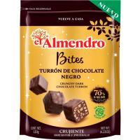 Bites de chocolate 70% EL ALMENDRO, bolsa 120 g
