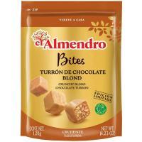 Bites de chocolate con caramelo EL ALMENDRO, bolsa 120 g