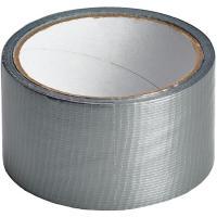 Cinta americana gris TACK, 10m x 48mm