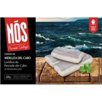 Lomos de merluza del Cabo con piel NOS, 400 g