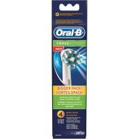 Recambio cepillo eléctrico Cross Action ORAL-B, pack 4 uds.
