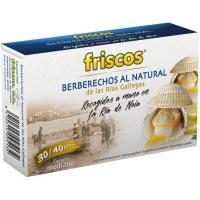 Berberecho ría de Noia 30/40 piezas FRISCOS, lata 60 g