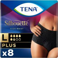 Silhouette Plus Créme Talla M TENA, paquete 9 uds.