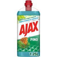 Limpiador olor a pino AJAX, botella 1,25 litros