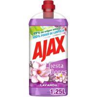 Limpiador lavanda AJAX, botella 1,250 litros