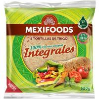 Tortilla integral MEXIFOODS, paquete 320 g