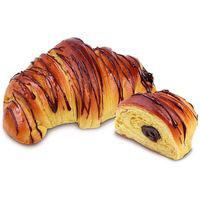 Croissant brioche de cacao, bandeja 2 uds.