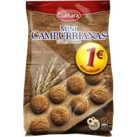 Galleta mini Campurrianas CUETARA, bolsa 280 g