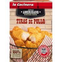Tiras de pollo americano LA COCINERA, caja 350 g