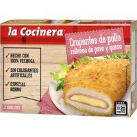 Crujientes de pavo-queso LA COCINERA, caja 200 g