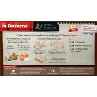 Canelones de champiñones-boletus LA COCINERA, caja 500 g