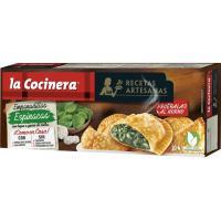 Empanadillas de espinacas LA COCINERA, caja 312 g