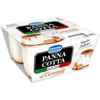 Panna cotta al caramelo DANONE, pack 4x100 g