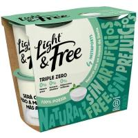 Yogur natural LIGHT&FREE, pack 4x125 g