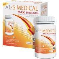 Captador de grasa-azúcar Max Strength XLS MEDICAL, caja 120 uds.