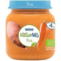 Potito de zanahoria-boniato bio NESTLÉ Naturnes, tarro 125 g